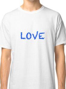 LOVE blue Classic T-Shirt