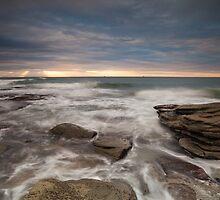 Sunrays at dawn by Mel Brackstone