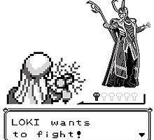 Loki Wants To Fight! by LeeDeane