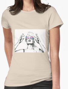 Iggy Azalea 2 Womens Fitted T-Shirt