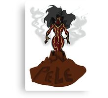 Pele: Volcano God Canvas Print