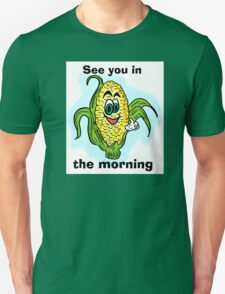 Funny bathroom humor corn drawing T-Shirt