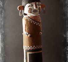 Heyheya uncle Kachina Doll by Carl  Onsae