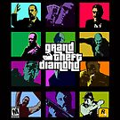 Grand Theft Diamond Snatchers by Antatomic
