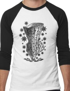 Starry Night Corset Tee Men's Baseball ¾ T-Shirt