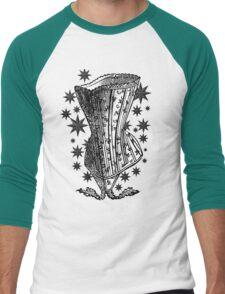 Starry Night Corset Tee Men's Baseball ¾ T-Shirt