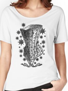 Starry Night Corset Tee Women's Relaxed Fit T-Shirt