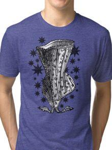 Starry Night Corset Tee Tri-blend T-Shirt
