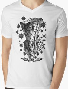 Starry Night Corset Tee Mens V-Neck T-Shirt