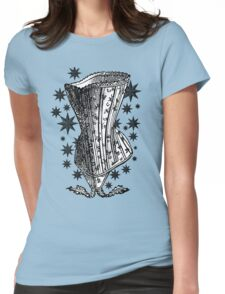 Starry Night Corset Tee Womens Fitted T-Shirt