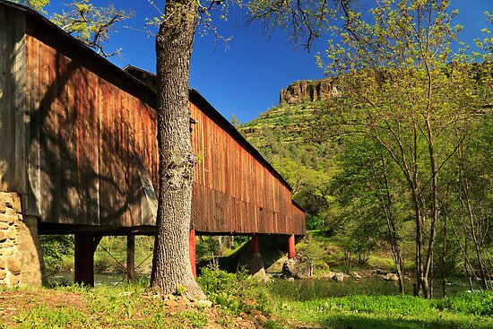 Honey Run Covered Bridge by James Eddy