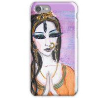 Devi in Upasana iPhone Case/Skin