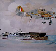 HMS Furious by Ray-d