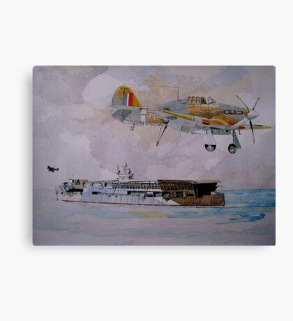 HMS Furious Canvas Print