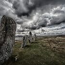 callanish standing stones by christopher lonie