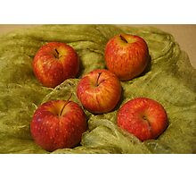 Peter's Heirloom Apples Photographic Print