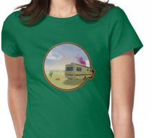 Desert Cook Out Womens Fitted T-Shirt