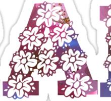 RAD FLOWERS Sticker