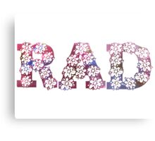 RAD FLOWERS Metal Print