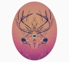 Dutch Deer Sticker by Landon Wierenga