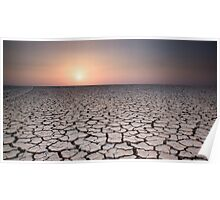 Cracked Earth Poster