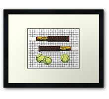 Graphic Tools Framed Print