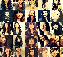 Crystal Reed Collage by 1direction5sos