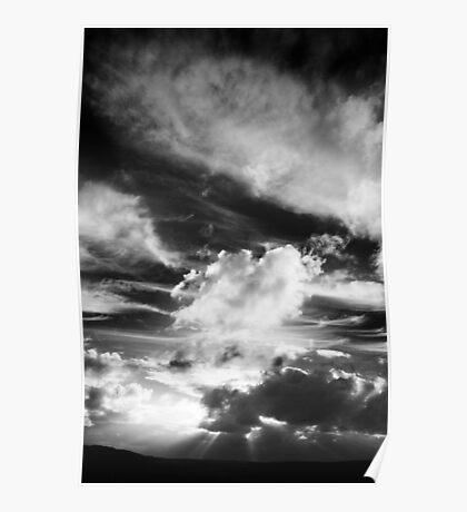 Cloud Study No.2 Poster