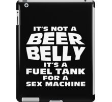 its not a beer belly iPad Case/Skin