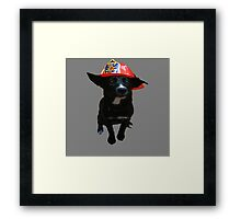 Addie fights fires Framed Print