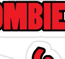 Training to Kill Zombies! Sticker