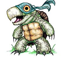 Teenage Mutant Snapping Turtle - Leonidas by LVBART
