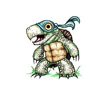 Teenage Mutant Snapping Turtle - Leonidas Photographic Print
