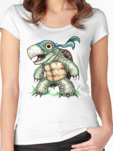 Teenage Mutant Snapping Turtle - Leonidas Women's Fitted Scoop T-Shirt