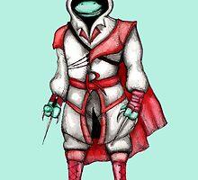Teenage Mutant Assasssin Turtle by LVBART