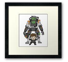 Robot Chibi Framed Print
