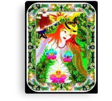 Earth Girl - The Virgin Canvas Print