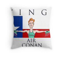 Wings: Air Conan Throw Pillow