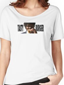 Pulp Fiction // Tasty Burger Women's Relaxed Fit T-Shirt