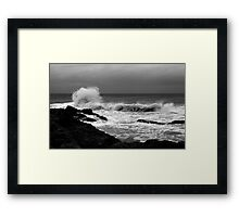 Backwash #5 Framed Print