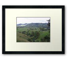 Gloucester nsw Framed Print