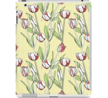 Seamless pattern with tulips iPad Case/Skin