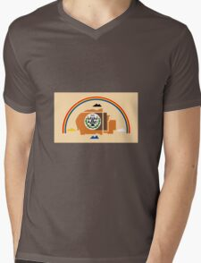 Navajo Flag Mens V-Neck T-Shirt