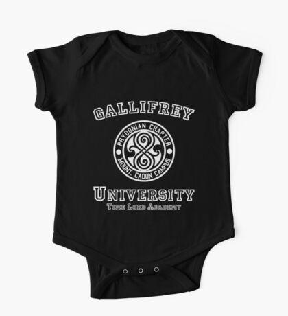 Gallifrey University One Piece - Short Sleeve