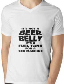 its not a beer belly Mens V-Neck T-Shirt