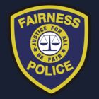 Fairness Police by DetourShirts