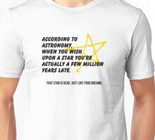 According to Astronomy Unisex T-Shirt
