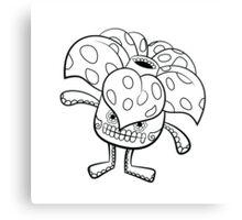 Vileplume de los Muertos   Pokemon & Day of The Dead Mashup Canvas Print