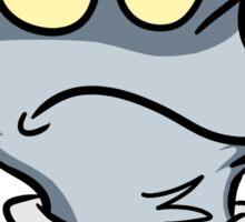 Grumpy Walf Sticker