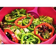 Crisp salad Photographic Print